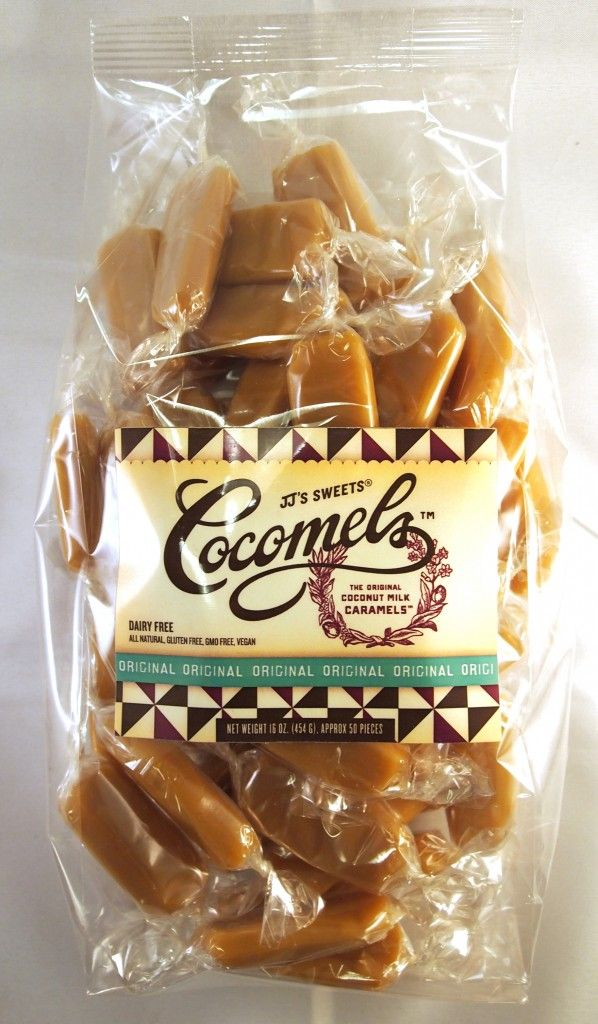 Cocomels - sold at a the Old Company Store in Wareham, Ma.  Even have chocolate covered ones!