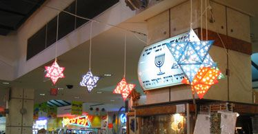 Star of David Sukkah Lampshade-1 | Today we exhibited Yevu Y…