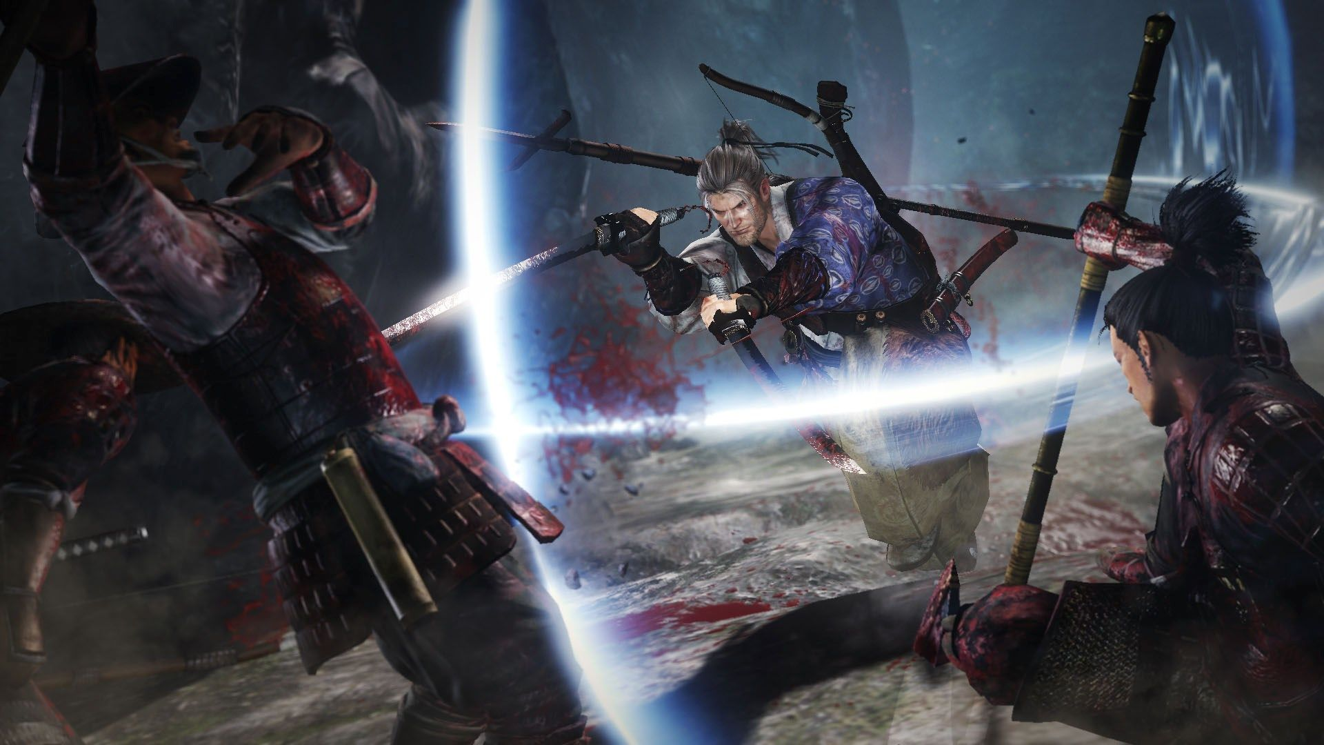 Finally got a weapon to have 1000  Damage : Nioh