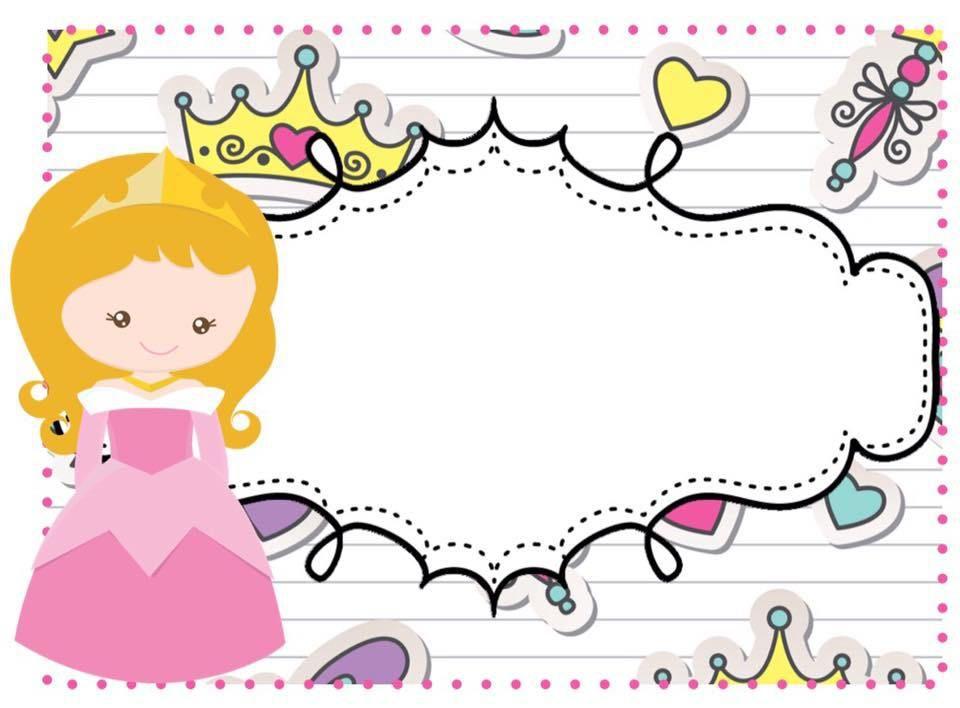 Tarjetas imprimibles multiusos. Motivos Princesas y Súper héroes ...
