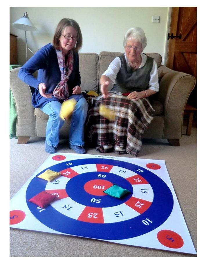 Show Details For Giant Target Mat Therapy Activities Elder