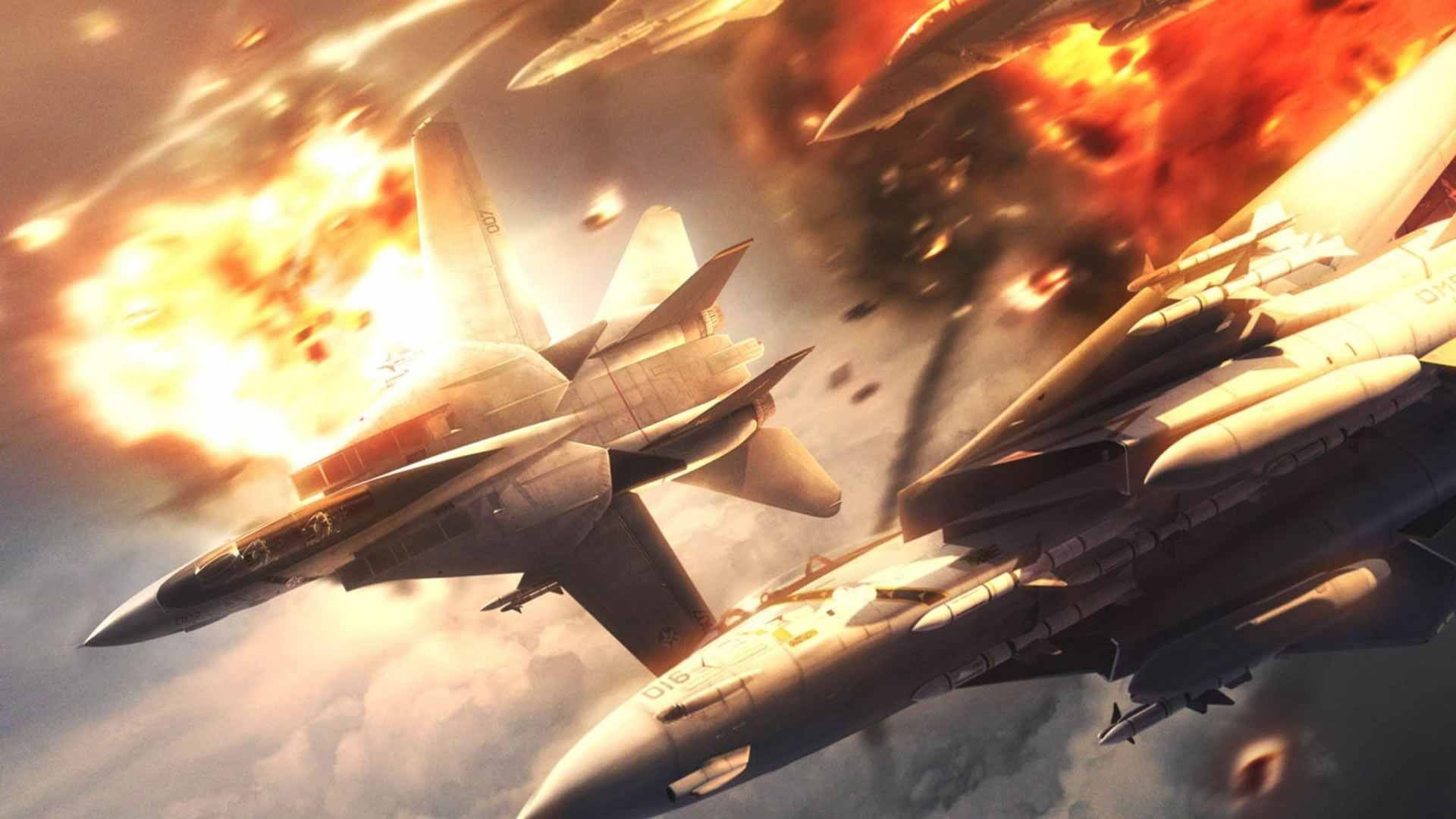 Ace Combat 5 dogfight | Game pictures | Fighter jets, Fighter