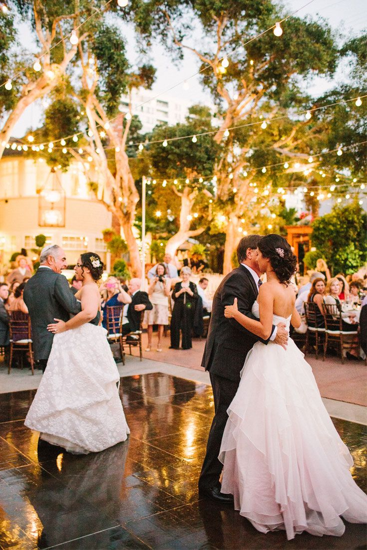 The Father Daughter Dance At This Beautiful Outdoor Wedding. PC: Rebecca  Fishman #weddings