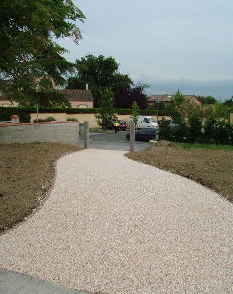allée nidagravel jardin Pinterest - Dalle Pour Parking Exterieur