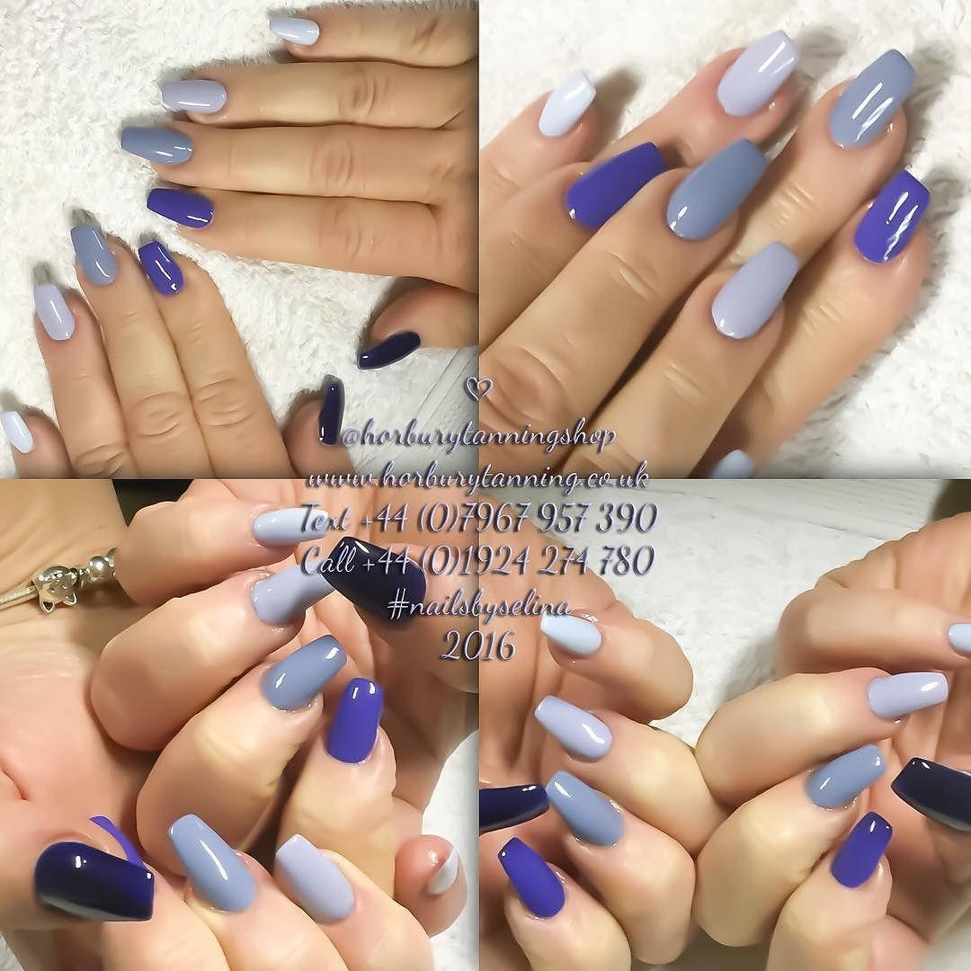 2/3/16 JAYNE #acrylicnails  #nailsbyselina  #horbury #wakefield  #nail #nailporn #nailsalon  #nailstuff #naildesign #nailaddicts  #nailstagram #uñas #ongles #yorkshire #instanail #nailsdid #nails #ネイルアート #ネイル #nailshop #nailsofinstagram #bluenails by horburytanningshop