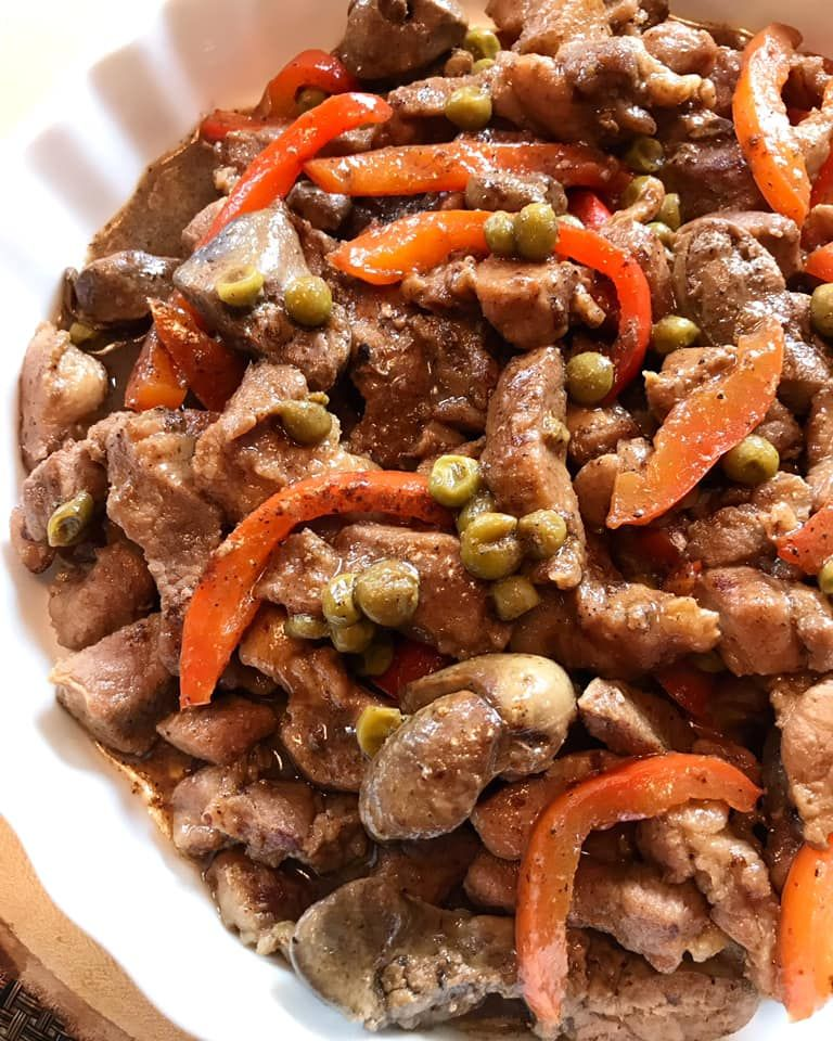 Casa Baluarte Filipino Recipes Pork Igado Recipe Asian Pork Recipes Chicken Liver Recipes Pork Recipes For Dinner