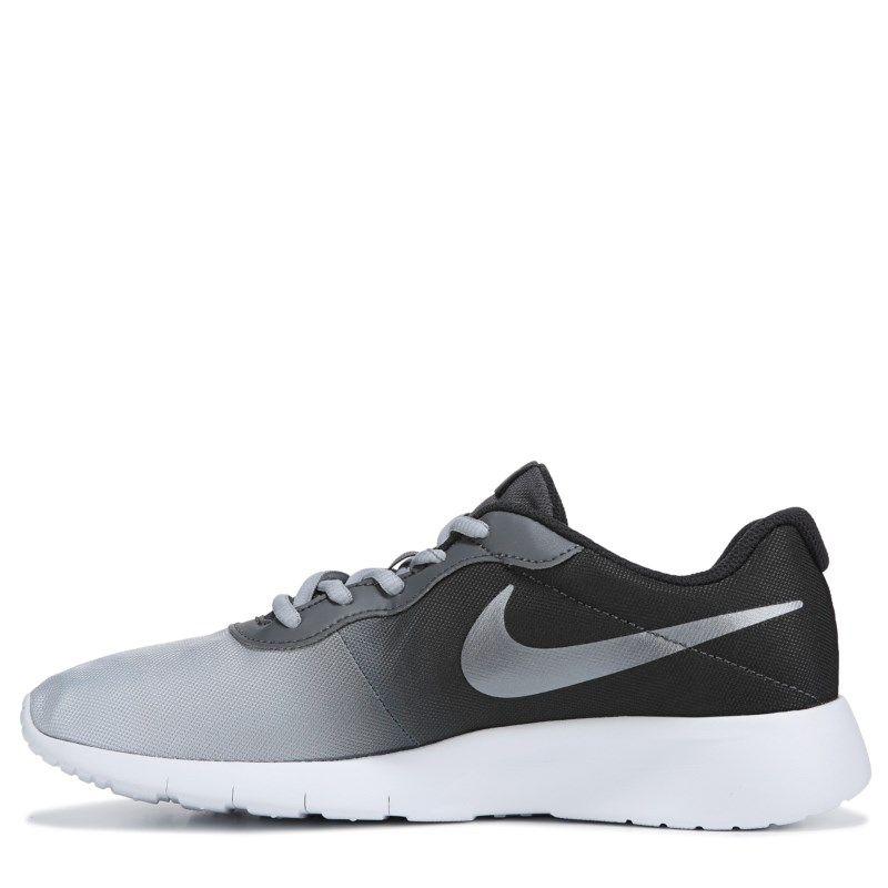 247ed124da2 Nike Kids  Tanjun Sneaker Grade School Shoes (Grey Black) in 2018 ...