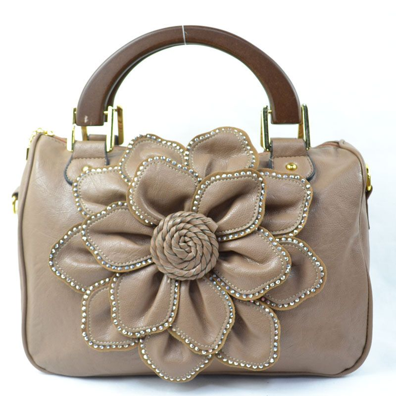 8b10118fa1e Flower Designer Leather Handbag Designs | Fashion in 2019 | Designer ...