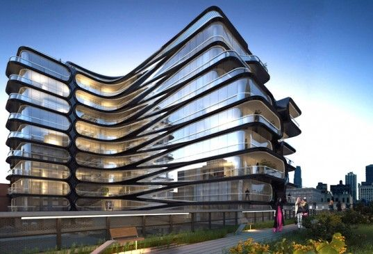 Zaha Hadid's First NYC Building Planned for Site Along the High Line