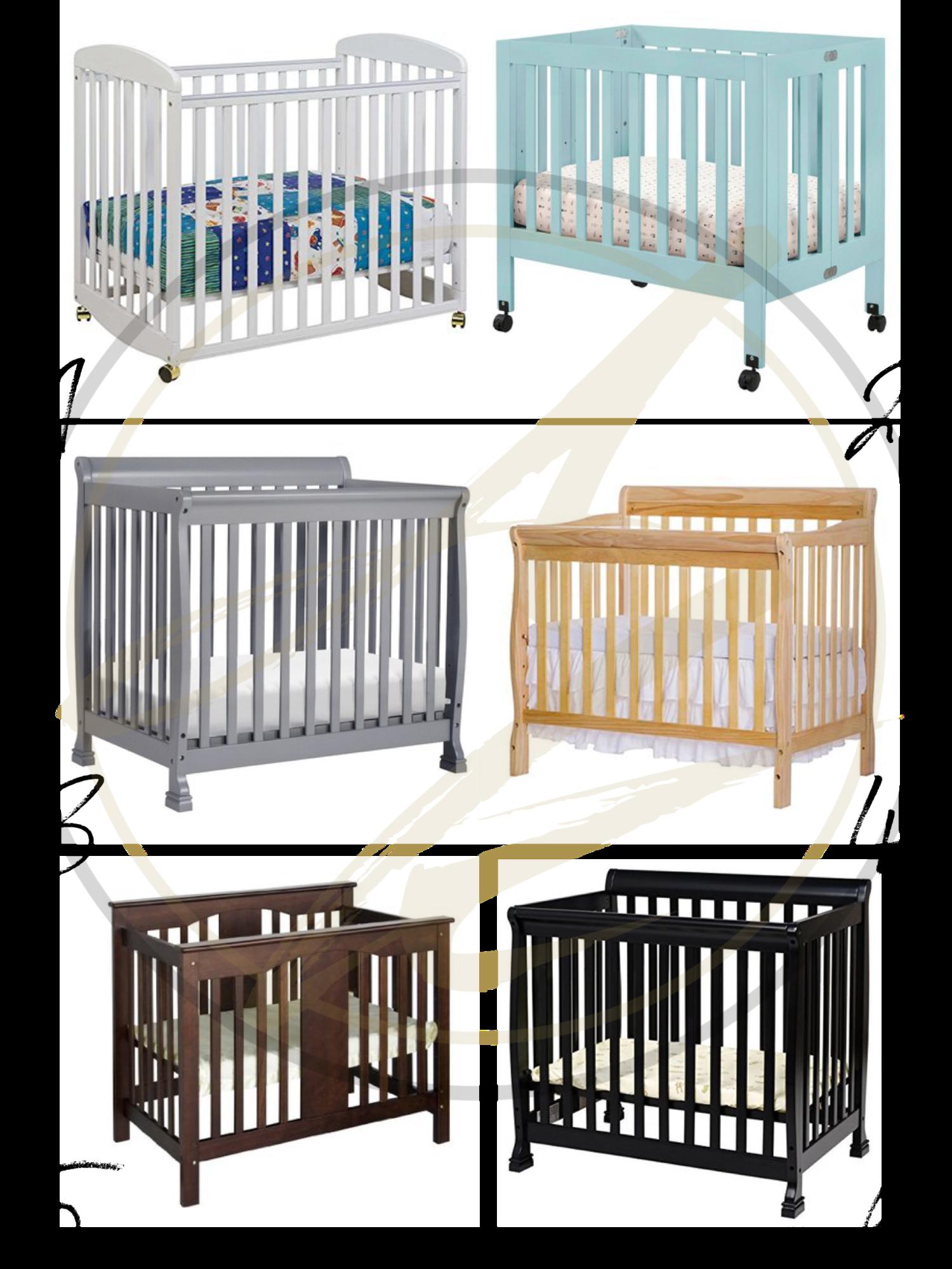 Small Space Must Have: The Mini Crib | Mini crib, Small crib ...