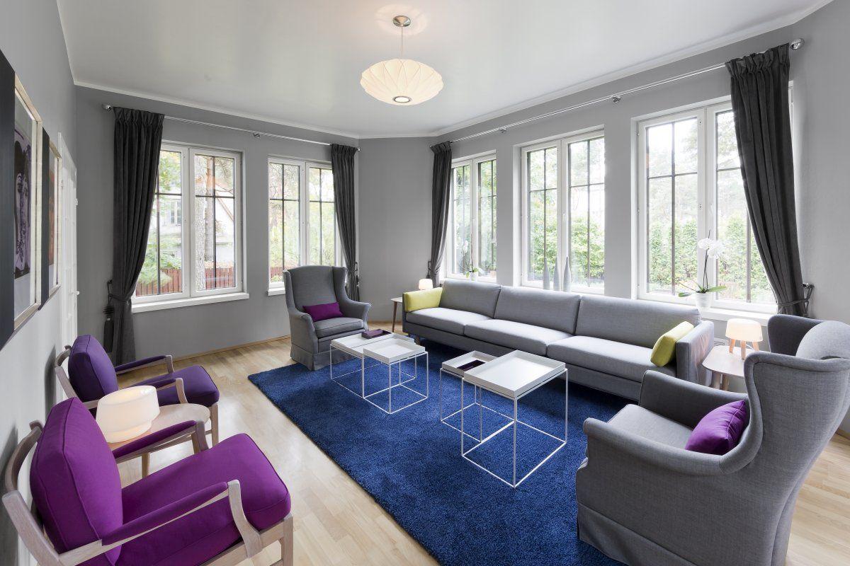Norwegian Official Residence By Dis Interiorarkitekter Mnil Living Room GreyLiving