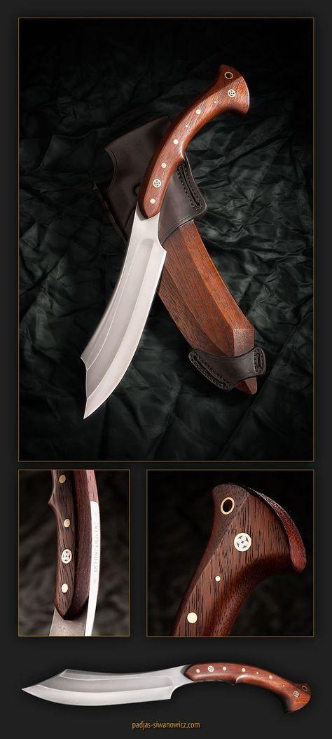 this is really heavy tool. steel: K110 Bohler (D2 eqv) wood: kempas knife…