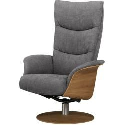Relaxsessel - grau - 77 cm - 116 cm - 82 cm - Polstermöbel > Sessel > Fernsehsessel Möbel KraftMöbel