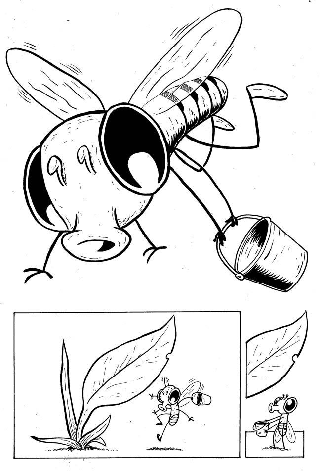 Drawing Flies · Photosynthesis (or Gimme Some Sugar). A