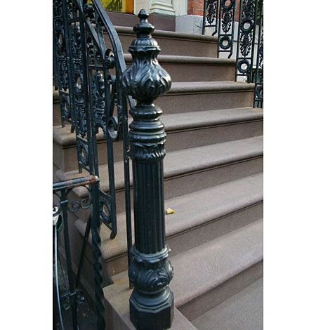 Best Cast Iron Newel Posts Wrought Iron Porch Railings 400 x 300