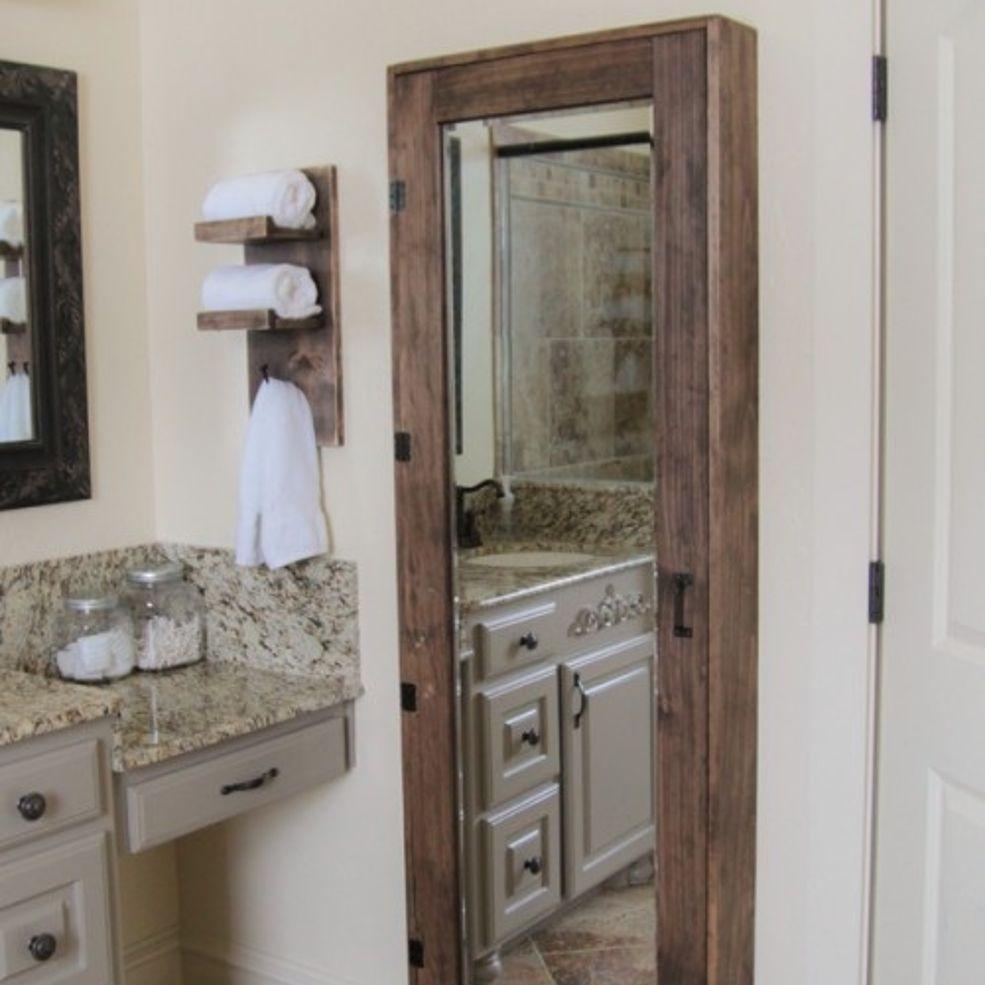 DIY Bathroom Storage Diy bathroom storage