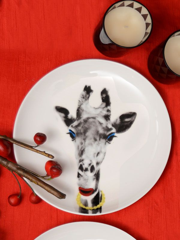 Buy Vogue Giraffe Plate Online at Best Prices in India | Giraffe