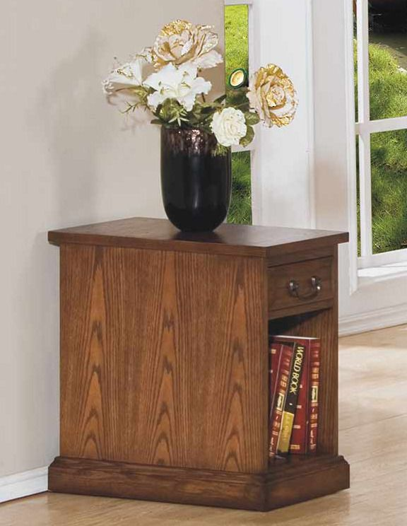Zahara Chair Side Table In Oak | Winners Only Furniture | Home Gallery  Stores | Nightstands U0026 End Tables | Pinterest | Chair Side Table And  Nightstands