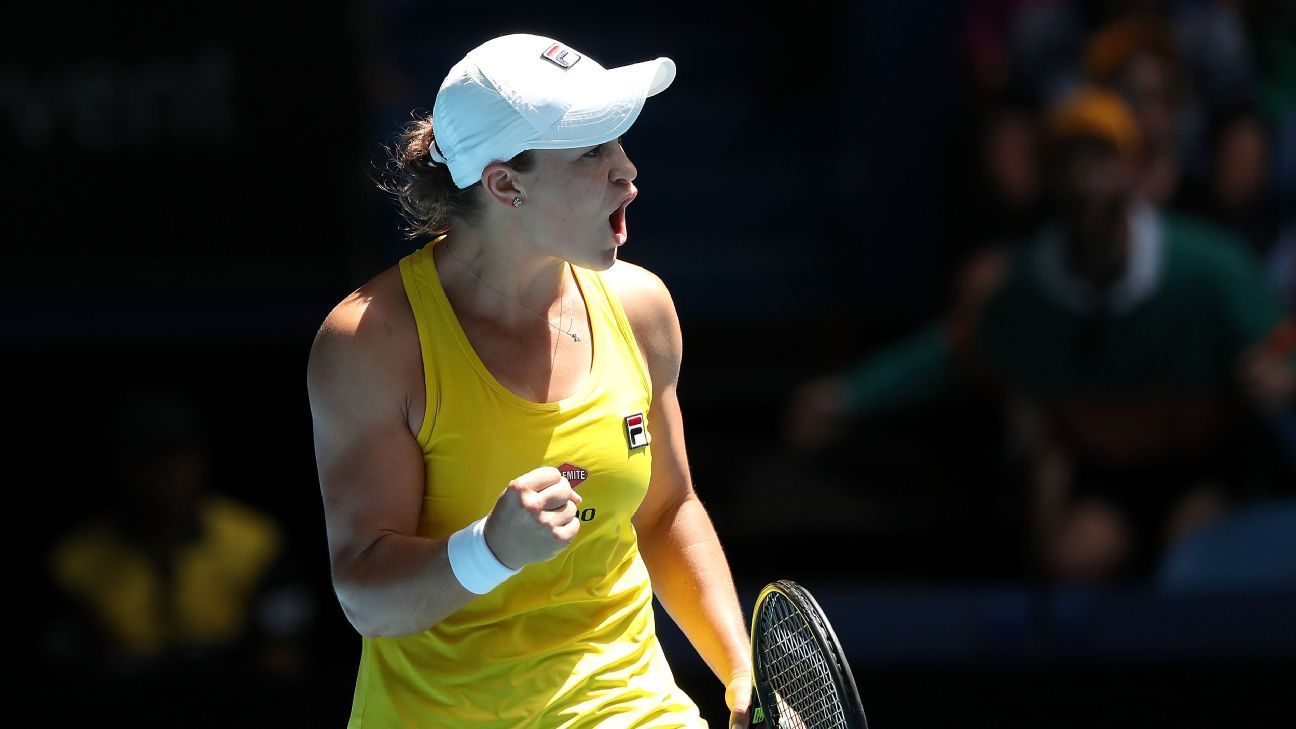 Barty pledges Brisbane winnings to wildfire relief 220 AM