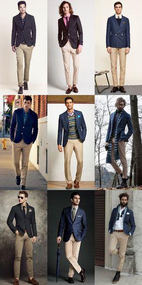 Jacket trouser combinations