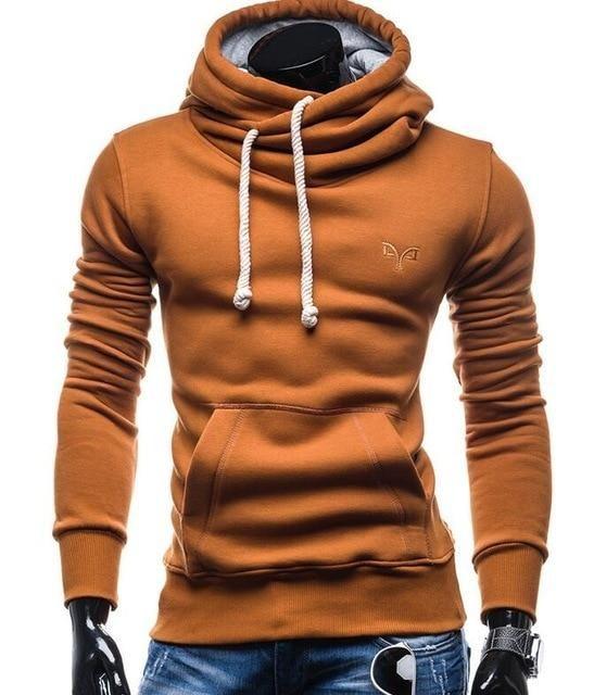Men's Clothing Brand 2018 Hoodie High Quality Pure Color Cardigan Hoodies Men Fashion Tracksuit Male Sweatshirt Hoody Mens Purpose Tour Hoodie