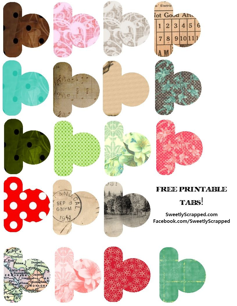 Sweetly Scrapped Free Printable Mini Album Freebies