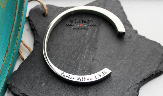 In Loving Memory Memorial Jewelry Cremation Urn Bracelet Hand Stamped Cremation Jewelry Pet Personalized Cremation Urn Bangle