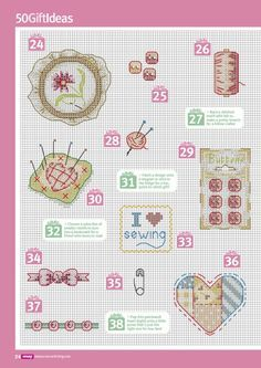 Cross Stitch Crazy 199 - 50 Crafty Gift Ideas 5/6
