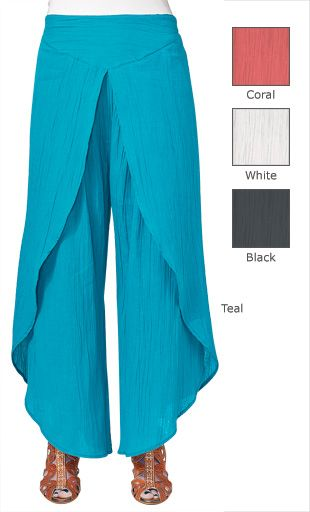 Only at GaelSong! Cotton Wrap Pants … | Things t…