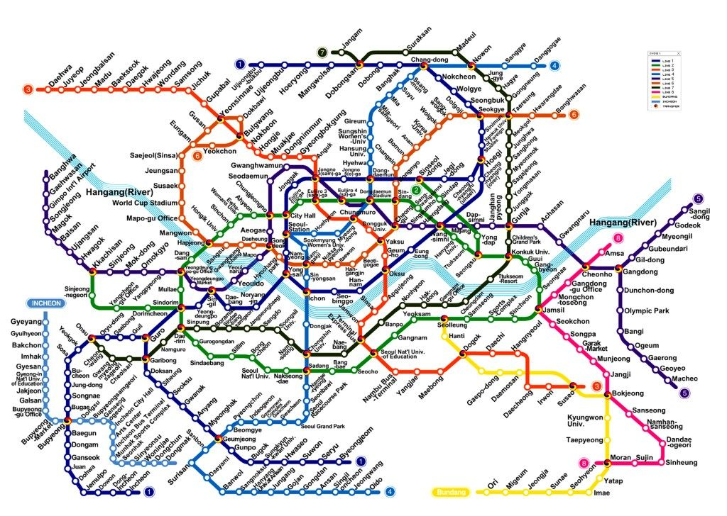 Korean Subway Map In English.10 Things To Know Upon Arrival In Korea Visit Seoul Korea Map Subway Map