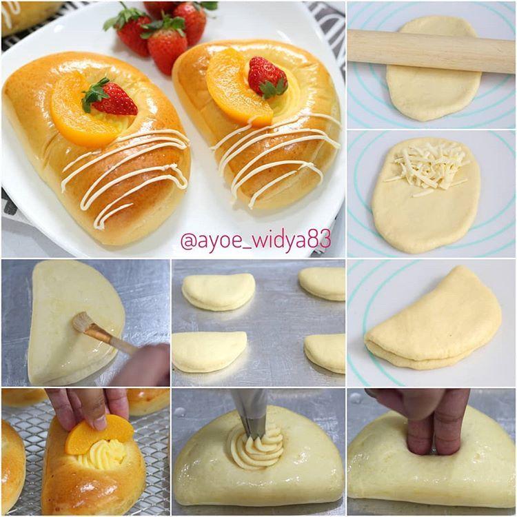 Fruity Cheese N Custard Sweet Bread Soree Mommies Asian Bread Itu Memang Terkenal Fariasi Sweet Breadn Makanan Resep Makanan Penutup Makanan Dan Minuman