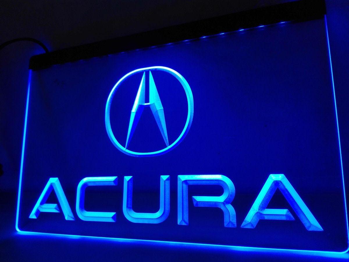 Acura 3D LED Neon Sign Light Plate Flag Club Man Cave