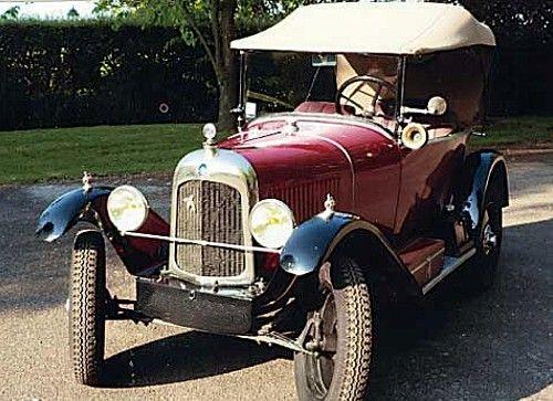 citroen 5 hp 1923 une ancienne voiture citro n 5 hp de 1923 voiture de collection couleur rouge. Black Bedroom Furniture Sets. Home Design Ideas