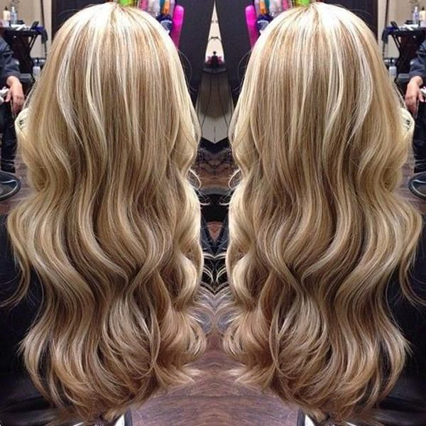Remy Human Highlight Blonde Wavy Front Lace Wig 130% ...