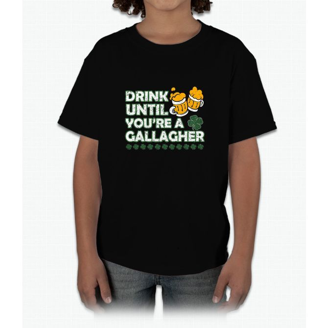 Drink Until Youre a Gallagher Shameless Young T-Shirt