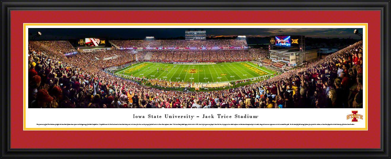 Iowa State Cyclones Football Panoramic Picture Jack Trice