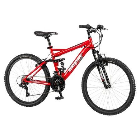 Mongoose Standoff 24 Kid S Mountain Bike Red With Images