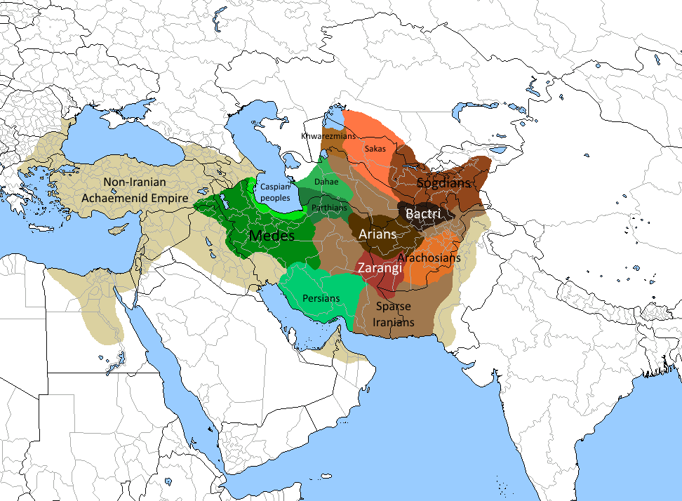 Iranians Of The Old Persian Empire Territorial Maps Pinterest - Persian empire map