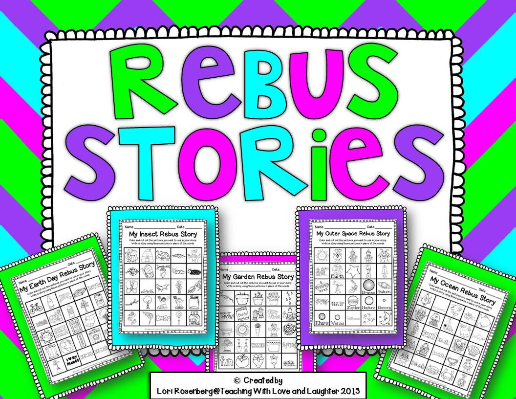 Teaching With Love And Laughter Rebus Stories And Break