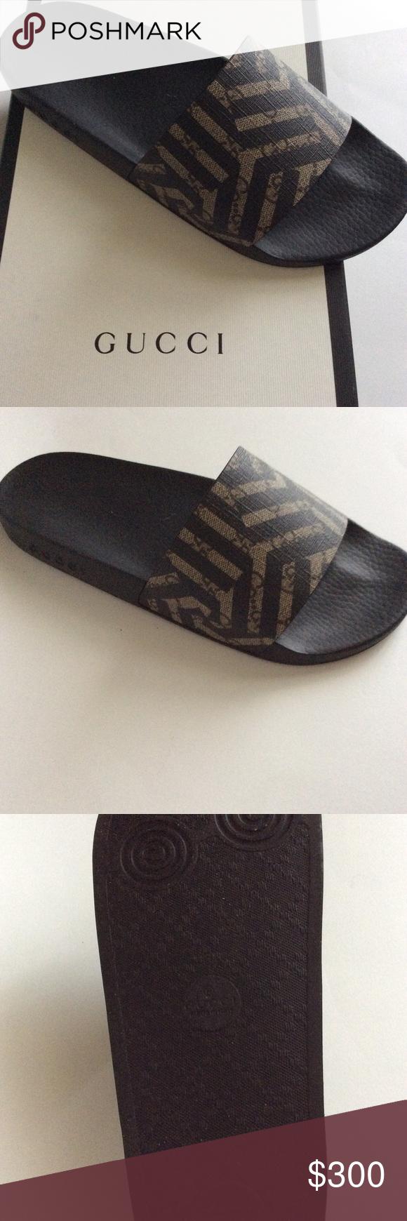 505cc8197c0 Gucci Gg Slide Sandals New