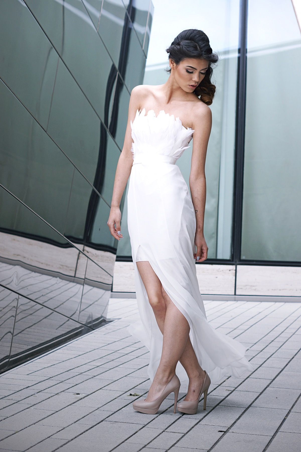EMANUEL HENDRIK | Dress: ISABELLE | IVORY - Tulle - Lace - Duchesse ...