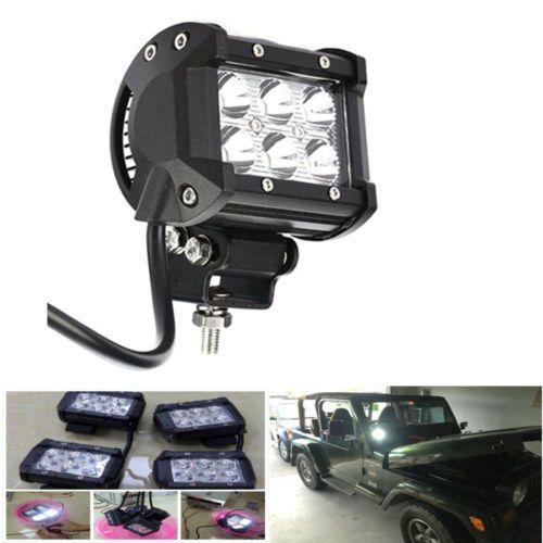 """4"""" 18W Spot LED Work Light Lamp Car Truck Boat Driving Fog Offroad SUV 4WD https://t.co/p8w4aVBEtU https://t.co/5EcwDr9rfe"""