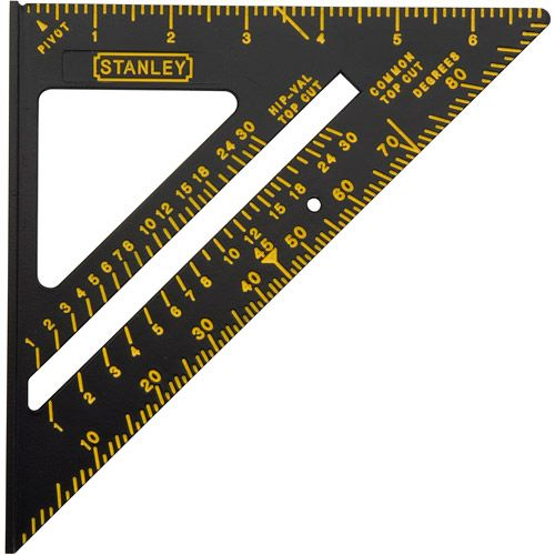 Stanley 46 071 Premium Quick Square Layout Tool 7 Walmart Com Stanley Hand Tools Quick Square Hand Tools