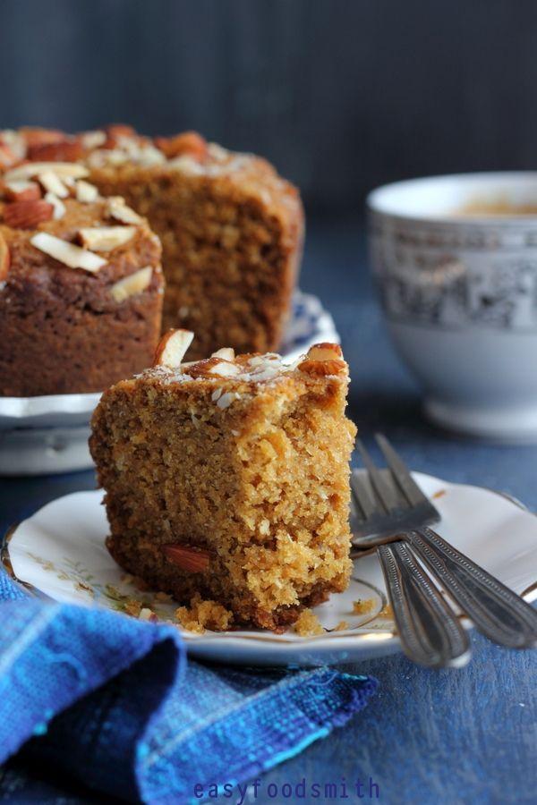 NOLEN GURER CAKE / Molasses without eggs- NOLEN GURER CAKE / गुड़ का बिना अंडे का के…  NOLEN GURER CAKE / CARDAMOM FLAVORED WHOLE MEAL DATE PALM JAGGERY EGGLESS CAKE] | Easy food smith   -#Cakedecoration