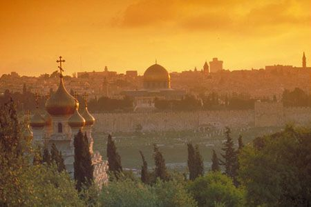 Locais selecionados em Jerusalém   Peregrinar na Terra Santa