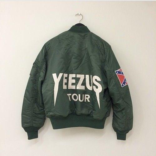 Jessdeenx Yeezus Tour Jacket Yeezy T Shirt Yeezus Tour