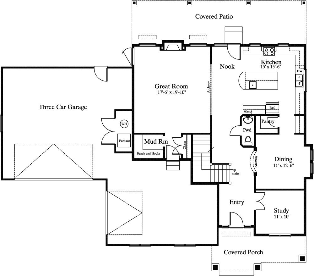 Cottage Style House Plans With Basement Di 2020 Hidup