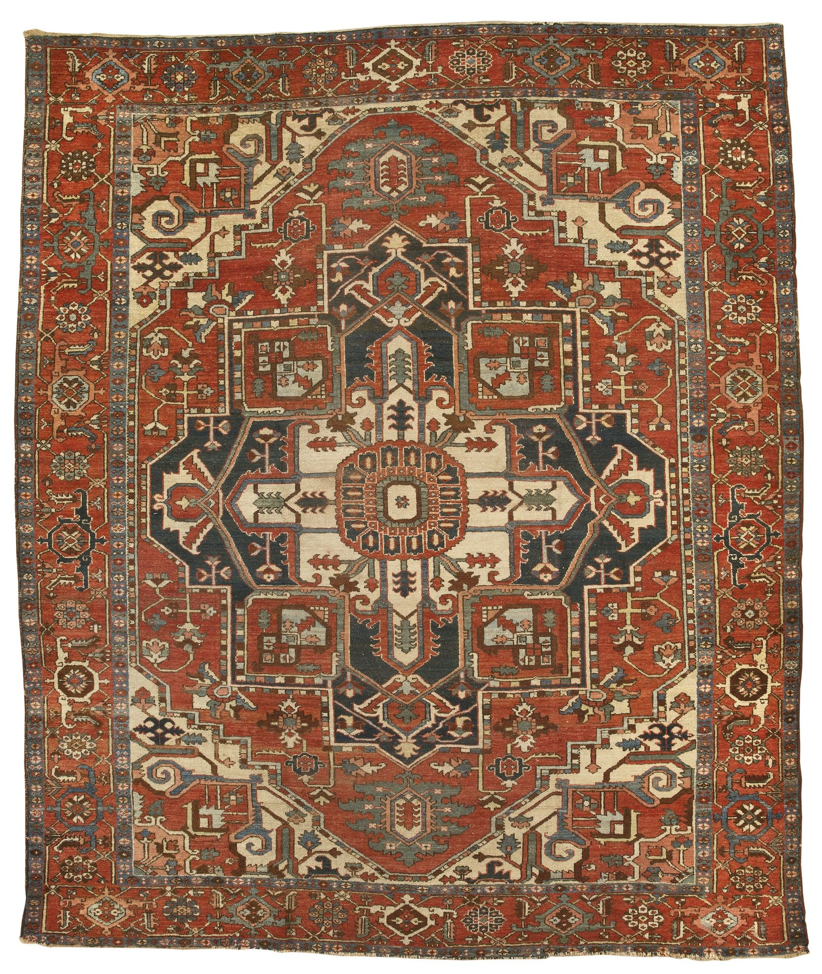 A Karadja Carpet Northwest Persia Approximately 321 By 377cm 10ft 6in 12ft 4in Early 20th Century Estimate 2 316 3 088usd Lot Sold 2 895 Usd