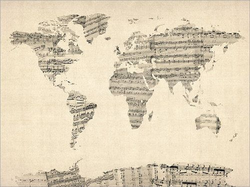 The world is music.