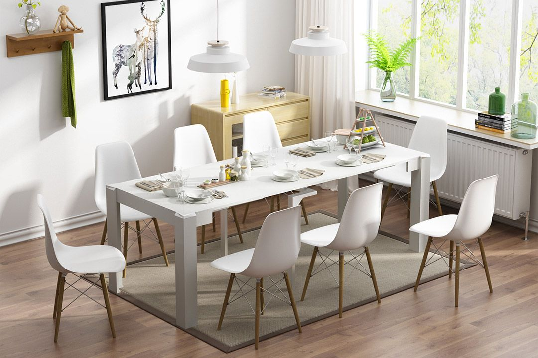 telescopic dining table  dining table sizes table